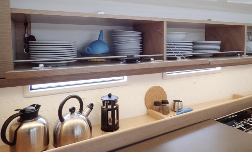 Bavaria 46-Kitchen inventory.jpg