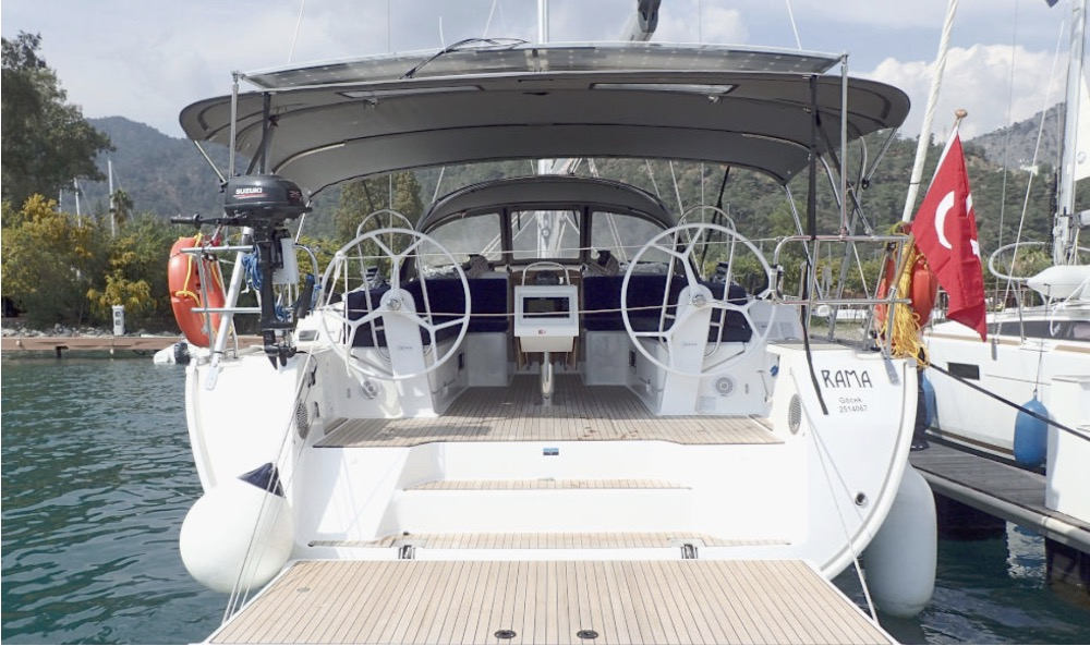 Bavaria 46-Rama on the dock.jpg