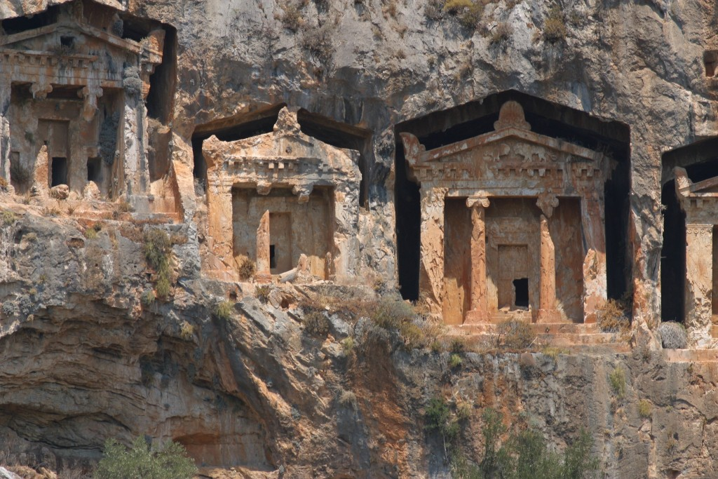 Lycian tombs Turkey