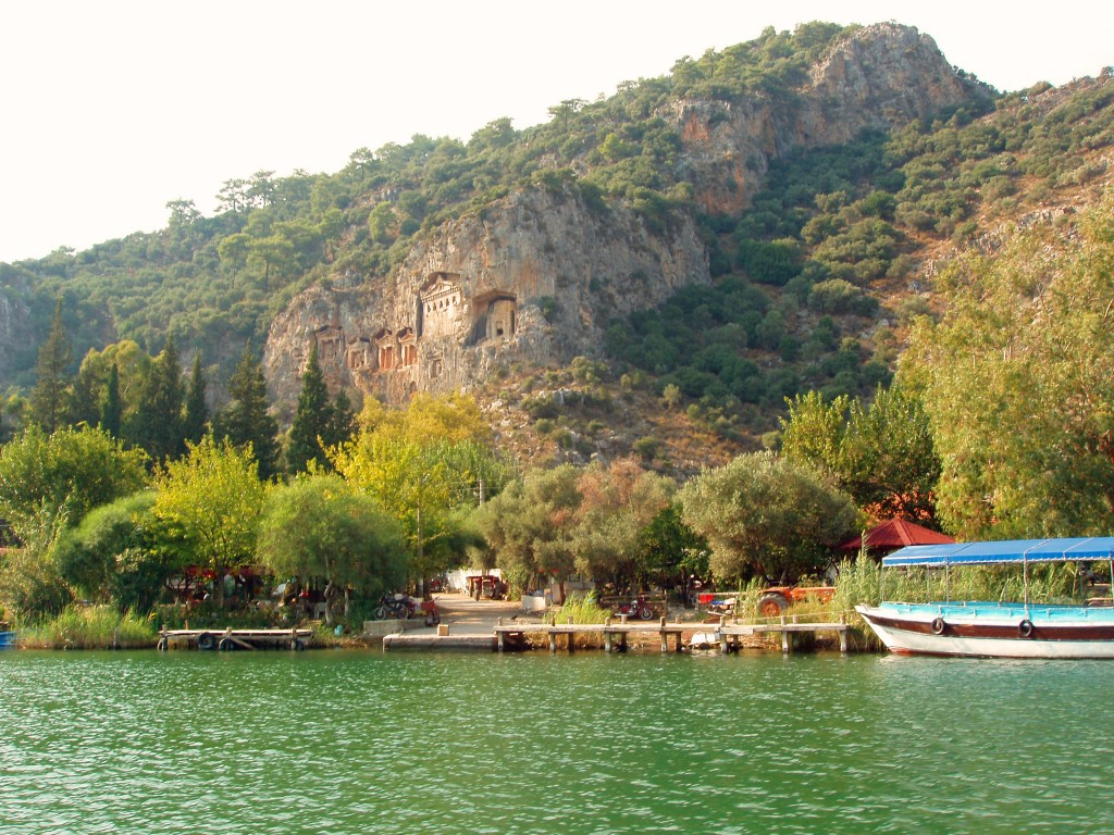 View from Dalyan River Boat