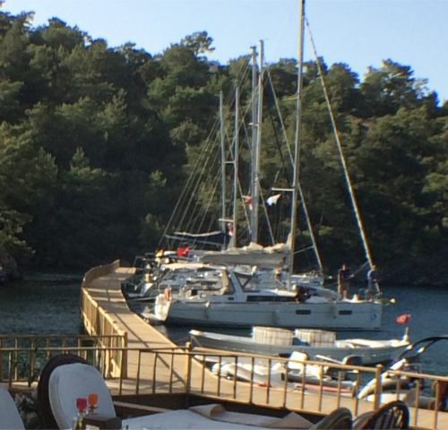 Sarsala located in the beautiful Skopia Limani bay area. It is the best sailing are.